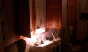 La luz frente a la ventana